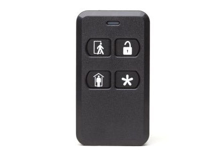 2GIG Encrypted 4-Button Keyfob Remote (KEY2e)