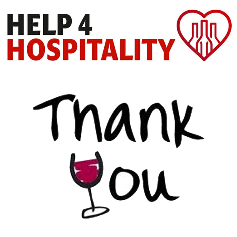 Thank You For Supporting the Help 4 Hospitality Charity