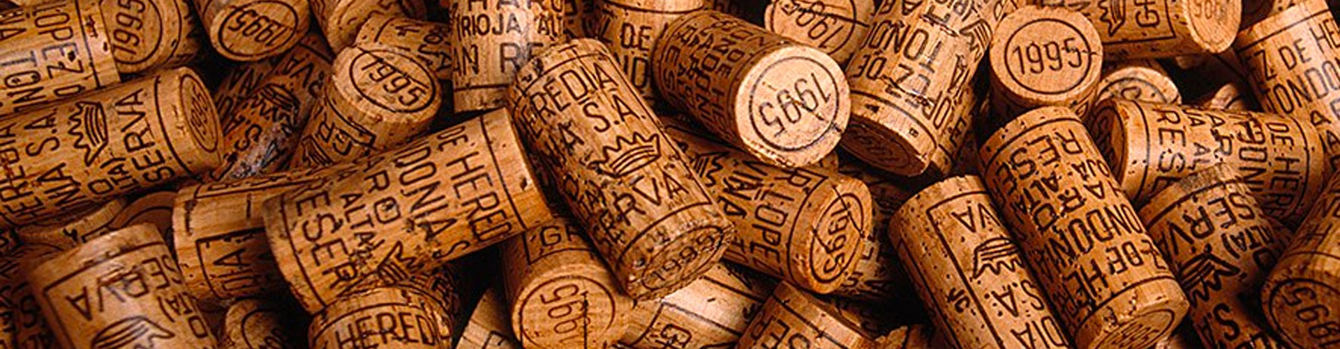 Collection of R. López de Heredia Rioja Corks