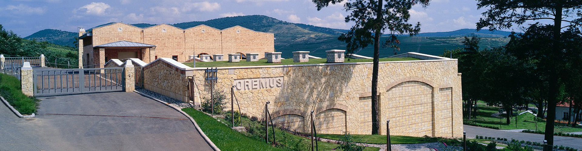 Tokaj-Oremus Vega Sicilia Winery in Hungary