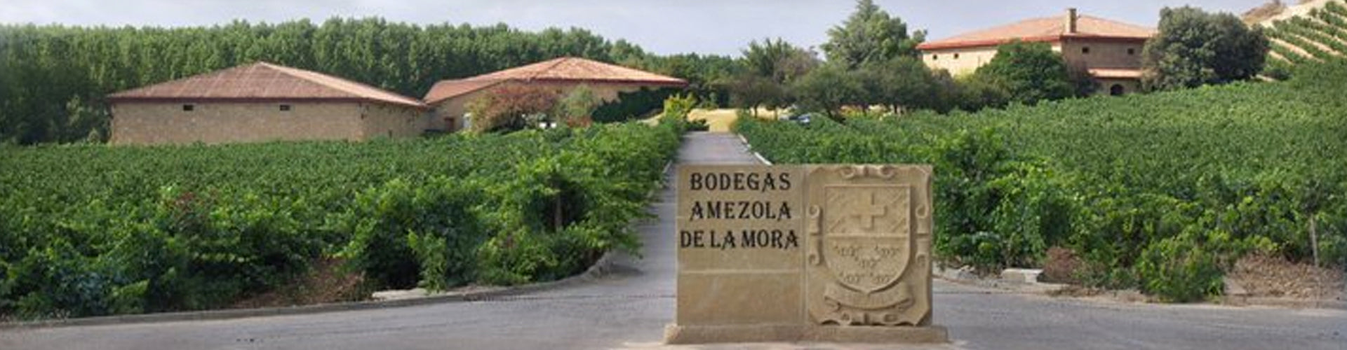 Bodegas Amezola de la Mora Winery Entrance