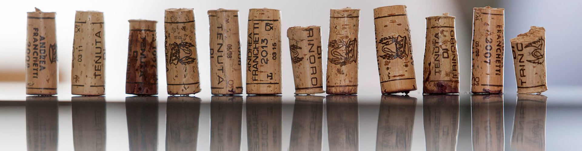 Collection of Tenuta di Trinoro Corks