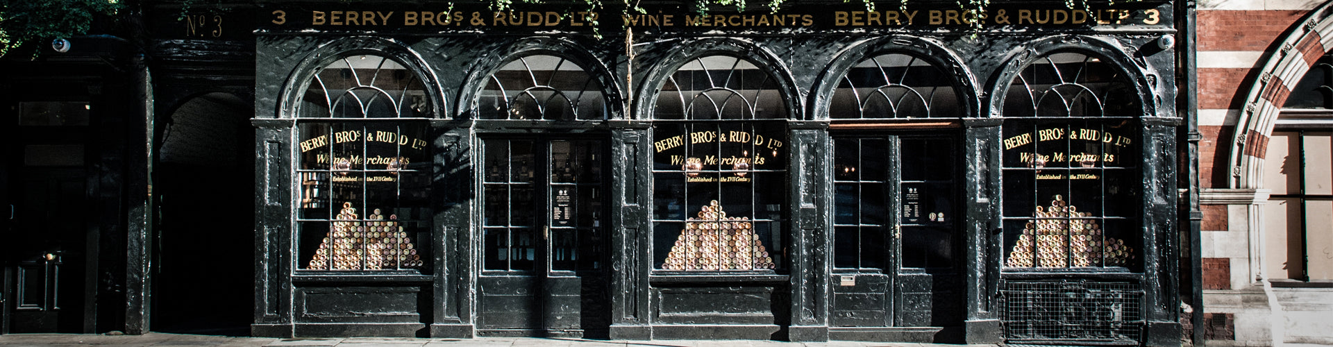 Berry Bros. & Rudd Shop at 3 St James's Street, London