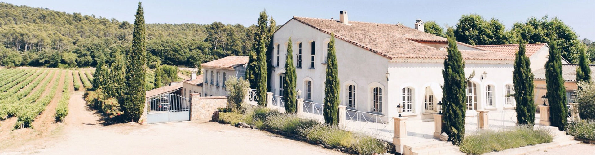 The Domaine du Grand Cros property in Provence