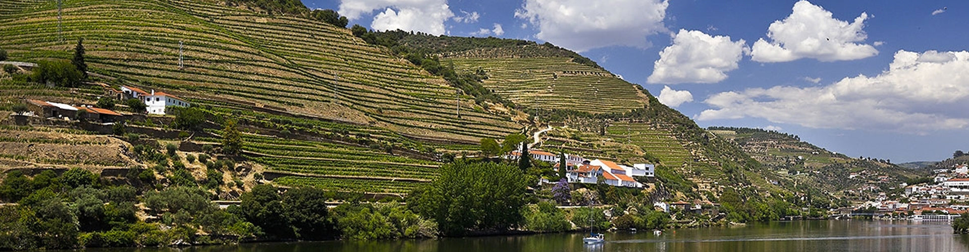 Quinta de la Rosa on the banks of the Douro in Portugal