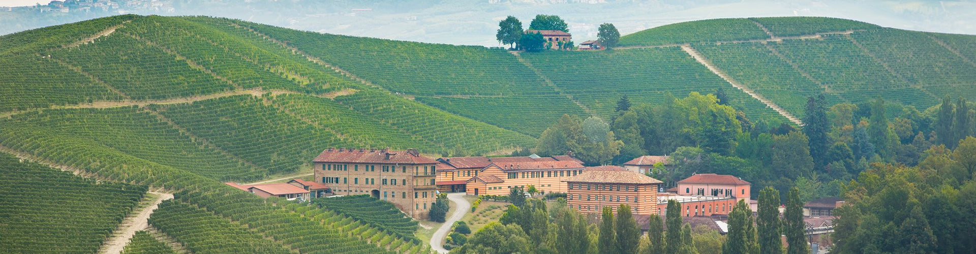 Fontanfredda Winery and Vineyards in the Serralunga d'Alba, Piemonte - Italy