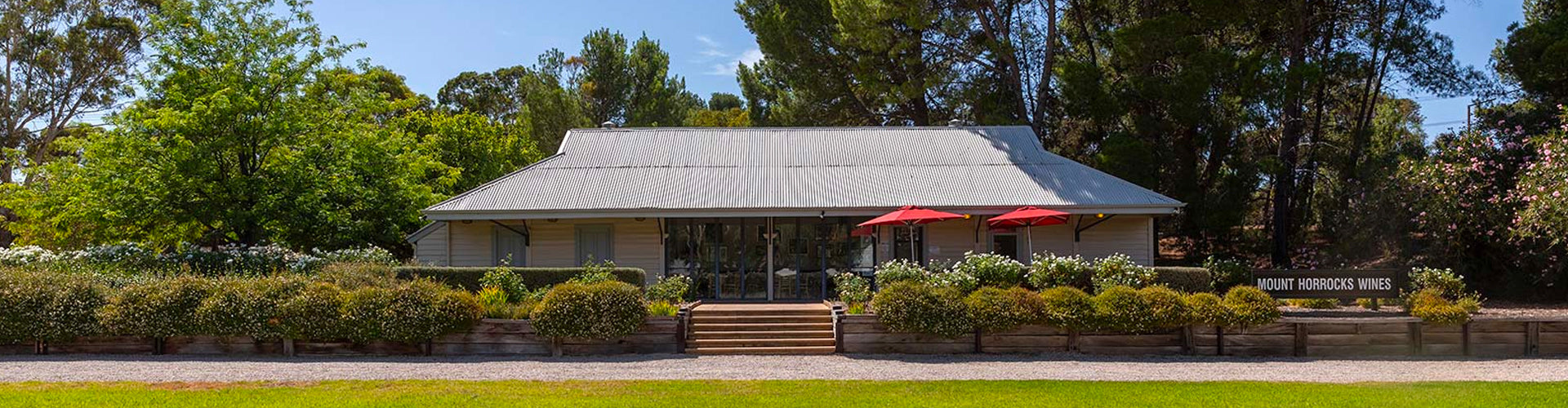 The Mount Horrocks Winery Building in Clare Valley