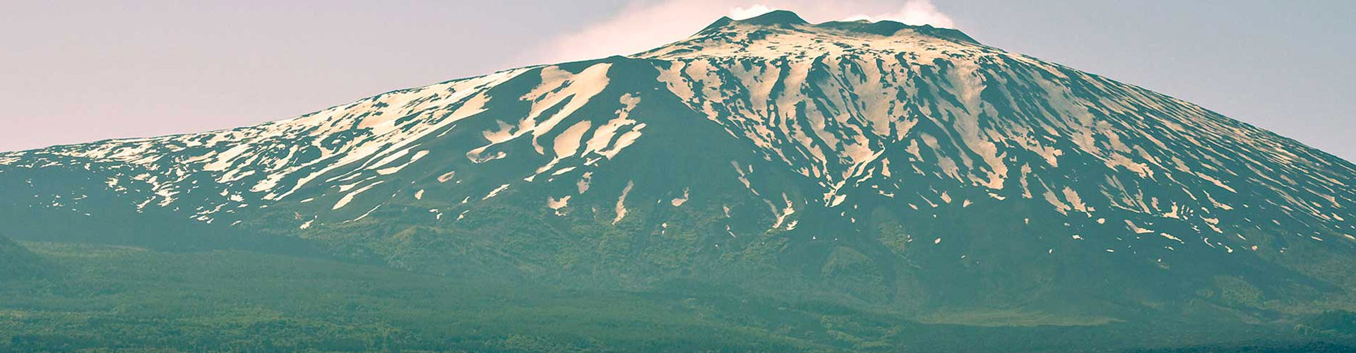 Mount Etna in Sicily home to Gaja & Graci's IDDA Project