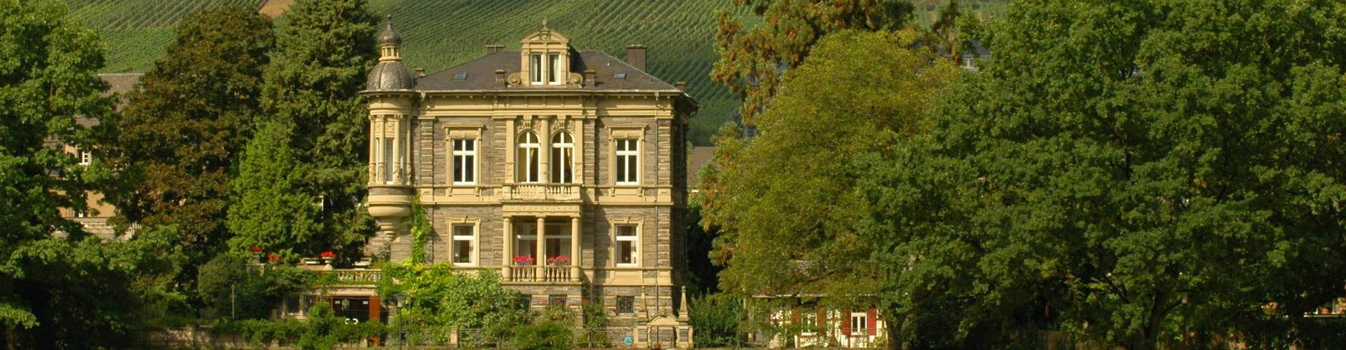 Wwe. Dr. H. Thanisch Erben Thanisch Manor House on the Mosel