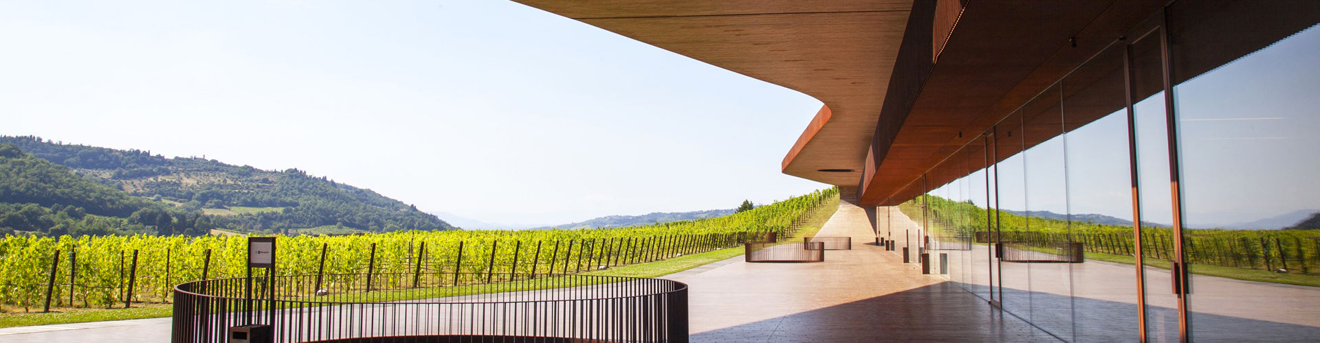 Marchesi Antinori Winery Building in Chianti Classico