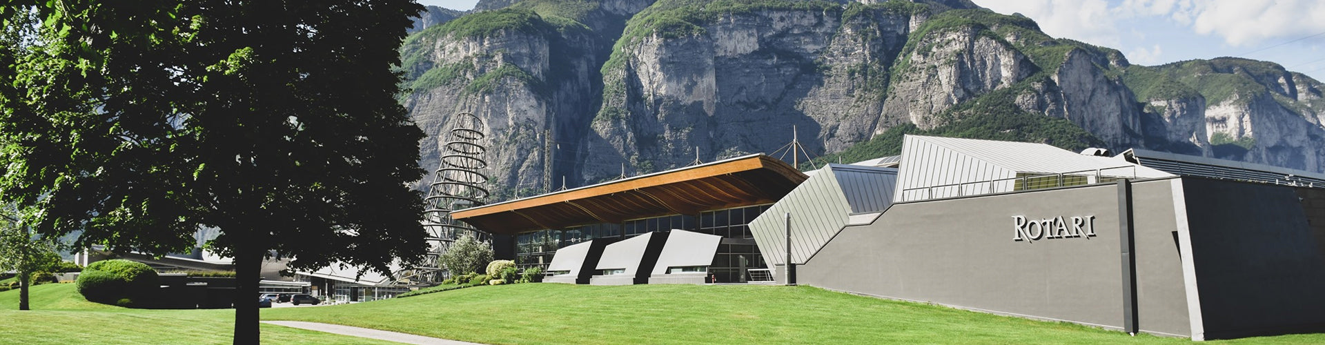 The Rotari Winery in the Trento region of Italy