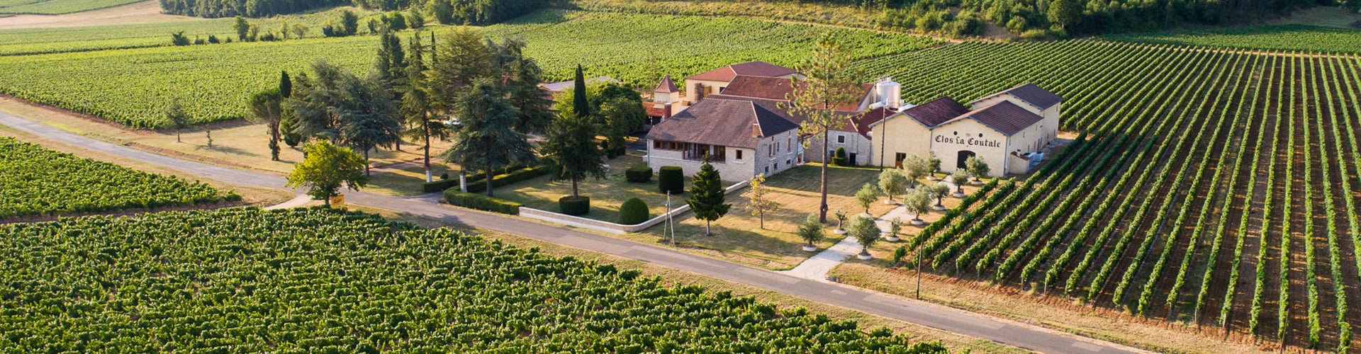 Clos La Coutale Winery and Buildings in Cahors, South West France