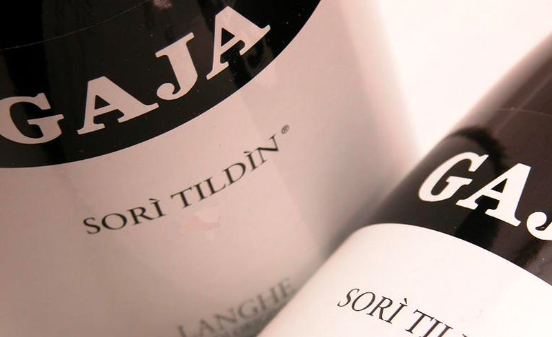 GAJA Sori Tildin Wine Label