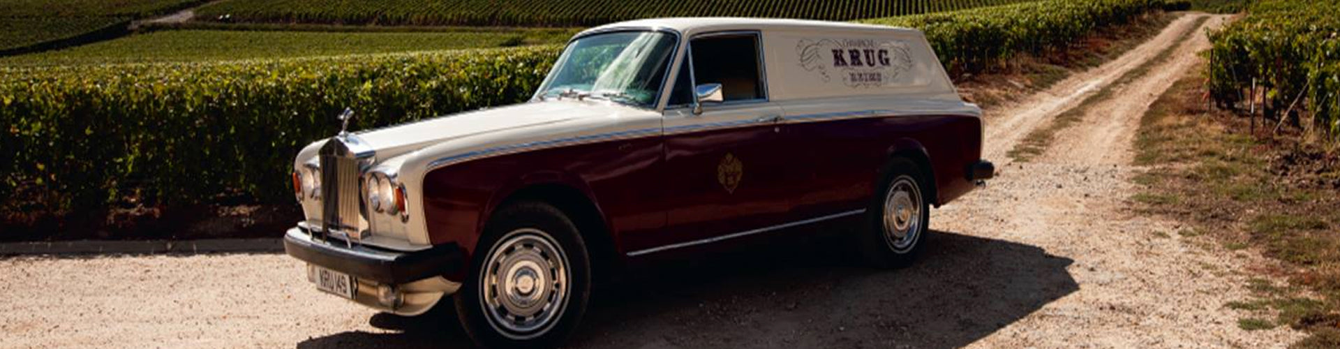 Krug Bespoke Rolls Royce in Vineyards