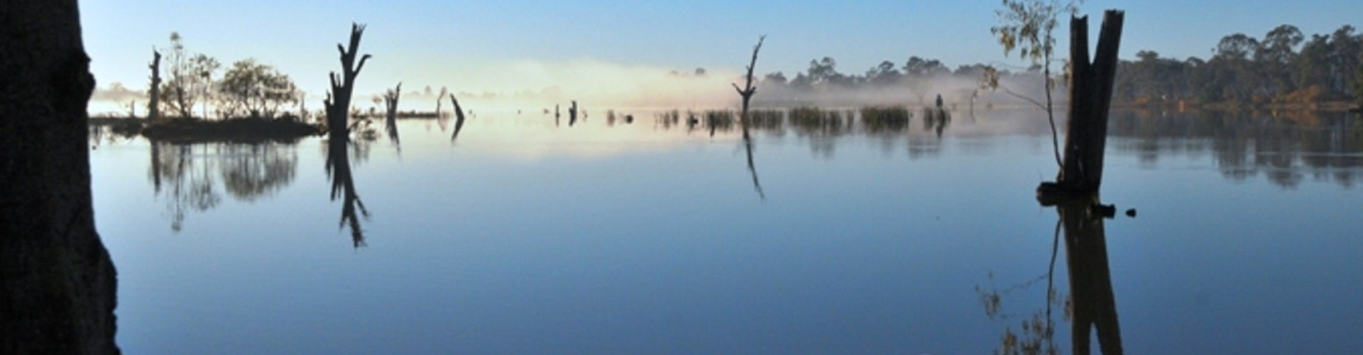 Nagambie Lakes in the Goulburn Valley Wine Region of Victoria
