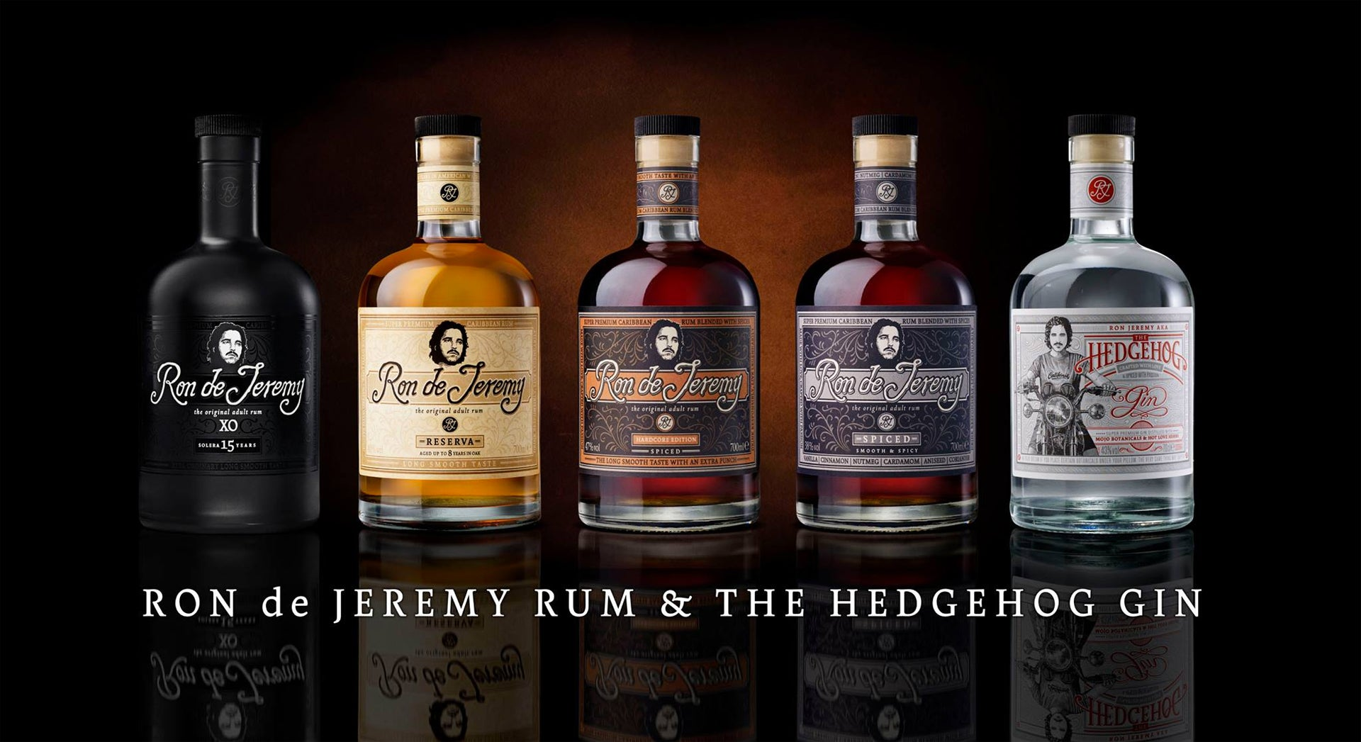 Ron de Jeremy Award Winning Rum Collection