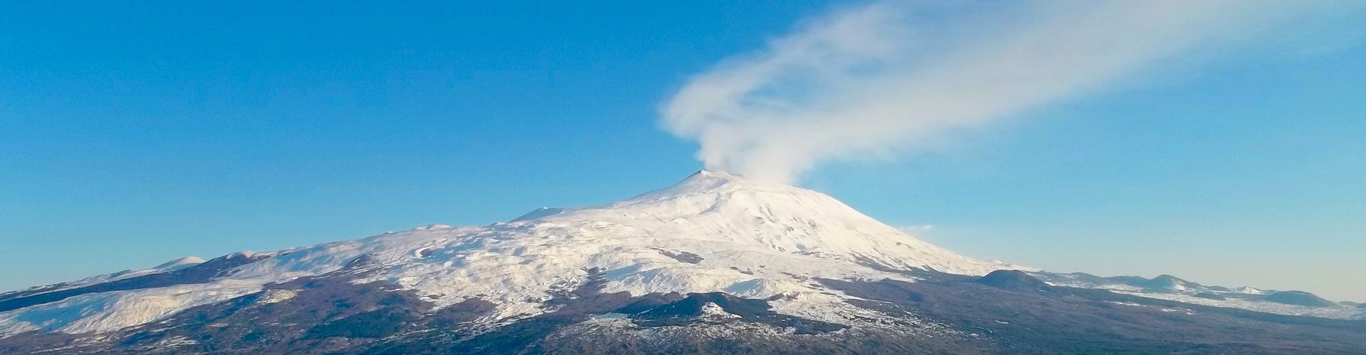 Mount Etna on the Island of Sicily