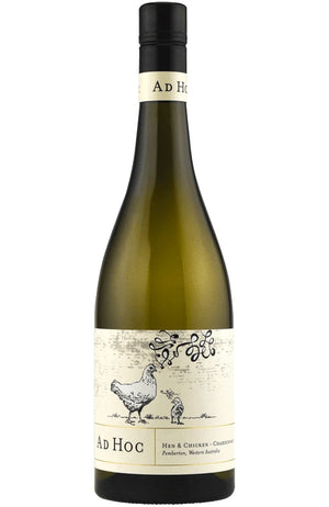 Larry Cherubino Ad Hoc Hen and Chicken Chardonnay Bottle