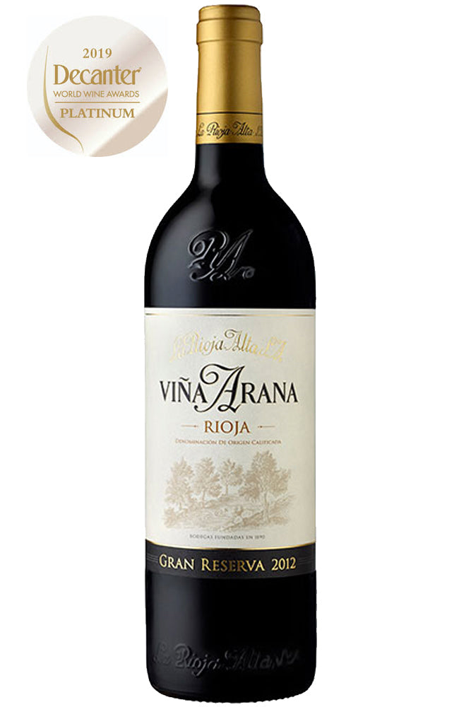 La Rioja Alta Viña Arana Gran Reserva Rioja Red Wine from Spain
