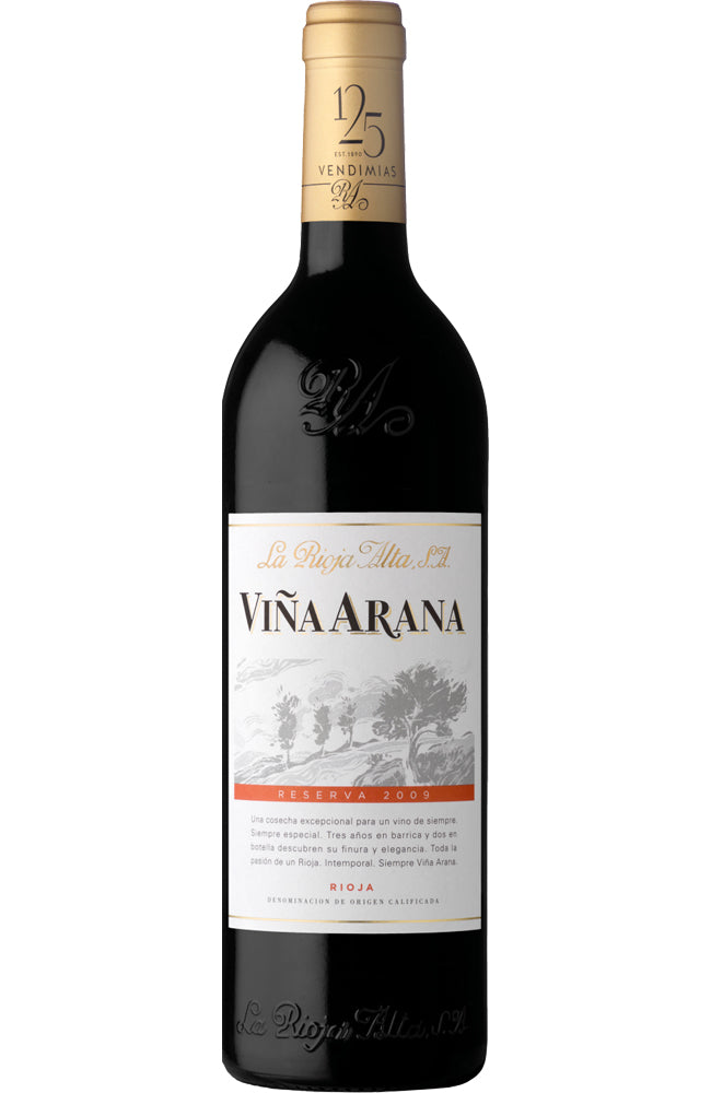 La Rioja Alta Viña Arana Reserva Rioja Red Wine from Spain