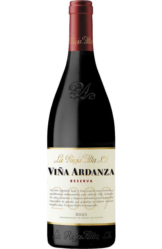 La Rioja Alta Viña Ardanza Rioja Reserva Red Wine from Spain