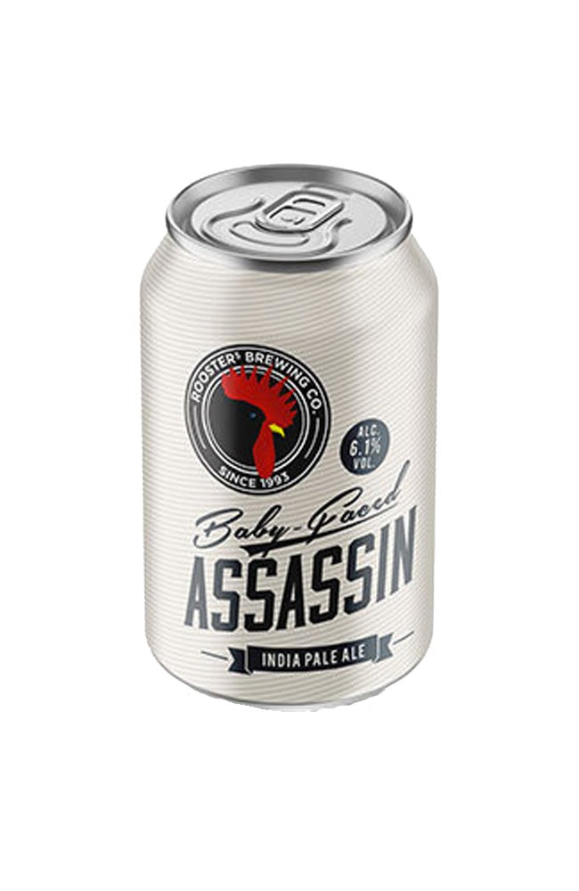 Rooster's Brewing Co. Baby Faced Assassin IPA Can