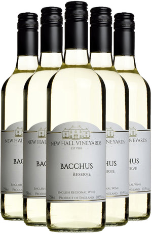 New Hall Vineyards Bacchus Reserve 2018