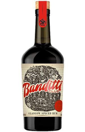 Banditti Club Glasgow Spiced Rum by the Glasgow Distillery Company