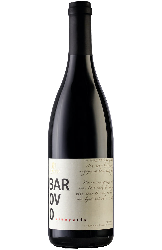 Tikveš Winery Barovo Single Vineyard Red Wine