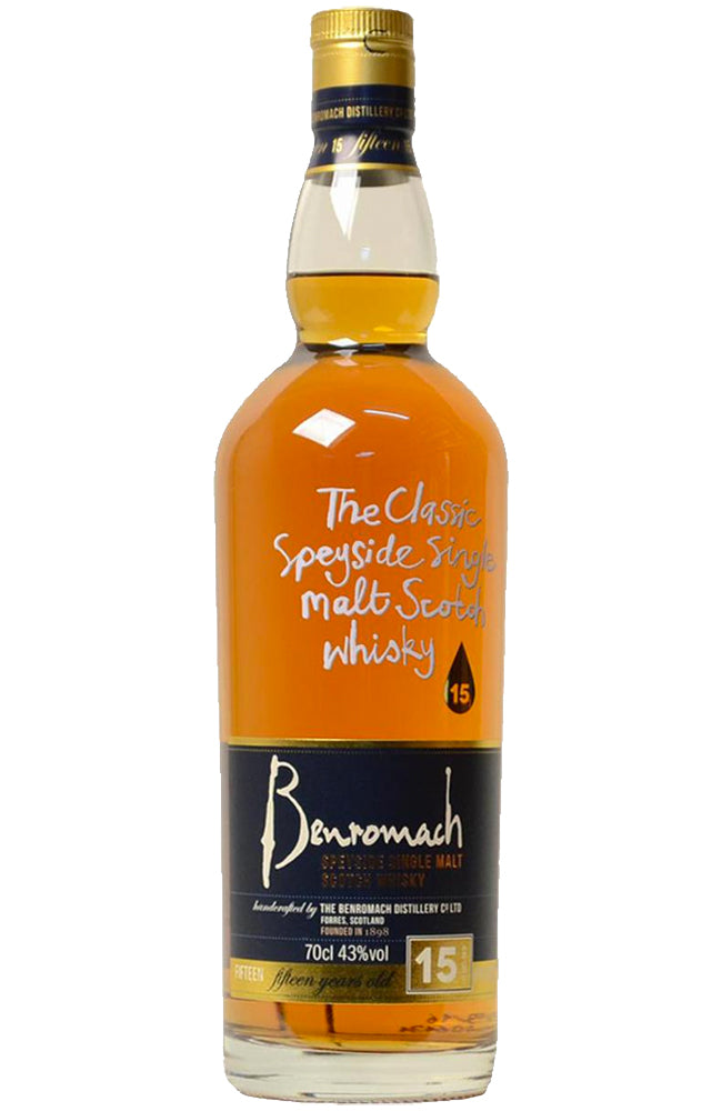 Benromach 15 Year Old Speyside Single Malt Scotch Whisky