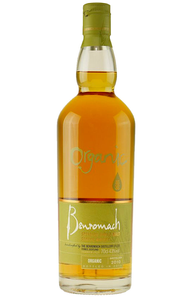 Benromach 2010 Organic Speyside Single Malt Scotch Whisky