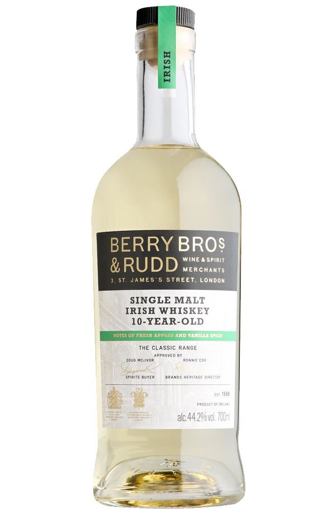 Berry Bros. & Rudd 10 Year Old Single Malt Irish Whiskey - 70cl | 44.2% ABV