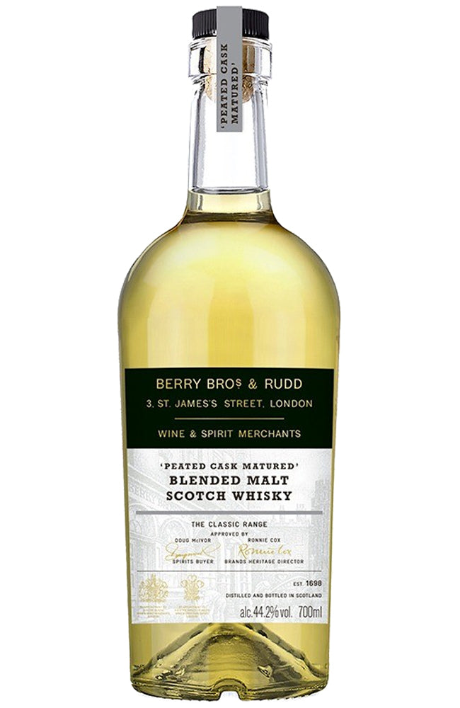 Berry Bros. & Rudd Classic Peated Cask Blended Malt Scotch Whisky