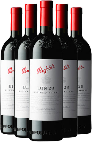 Penfolds Bin 28 Kalimna Shiraz 6 Bottle Case