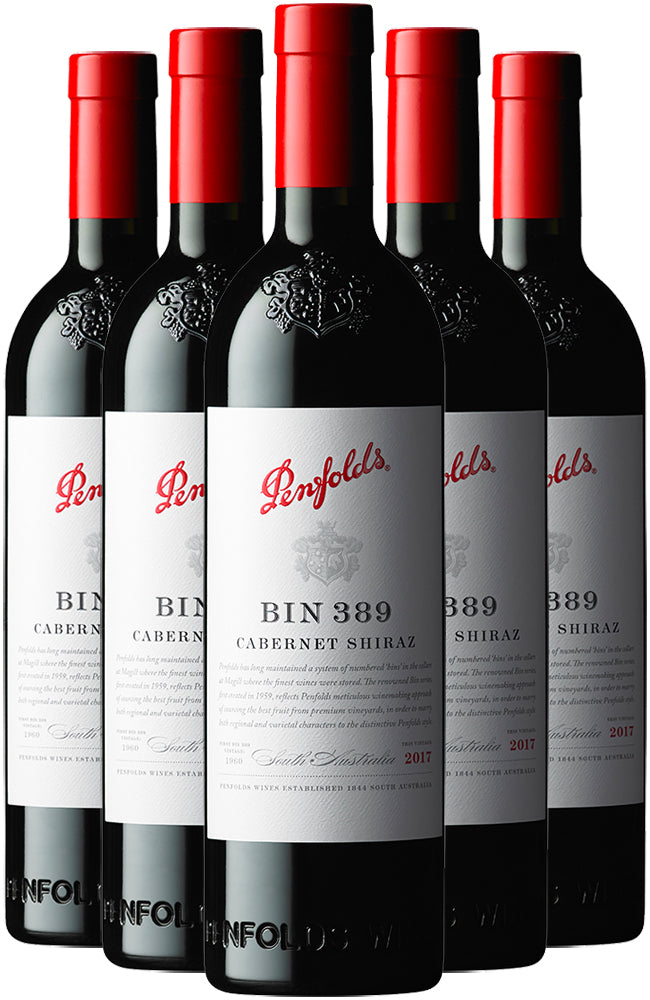 Penfolds Bin 389 Cabernet Shiraz 6 Bottle Case