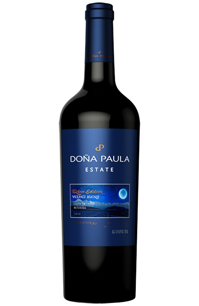 Doña Paula Blue Edition Velvet Blend Argentinian Red Wine