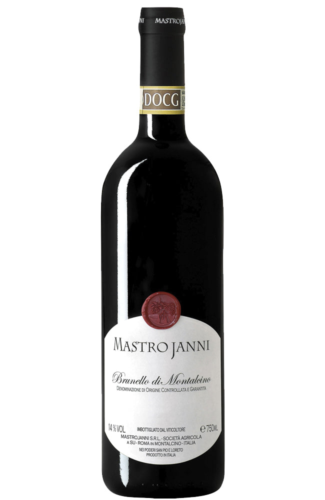 Mastrojanni Brunello di Montalcino Sangiovese Red Wine Bottle