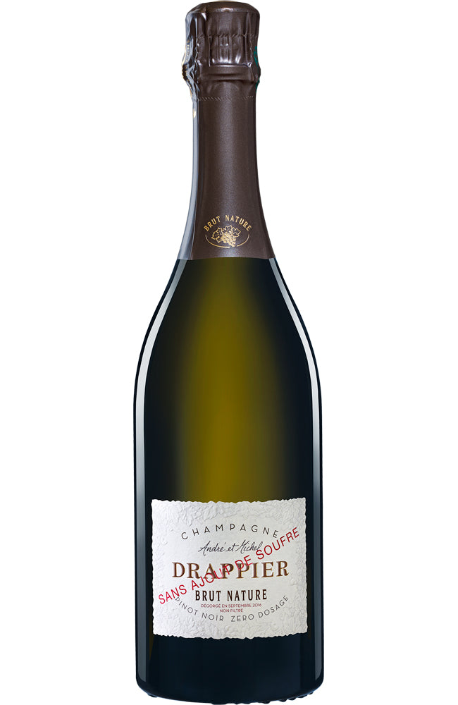 Champagne Drappier Brut Nature Zéro Dosage Sans Souffre NV