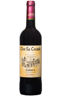 Clos La Coutale Cahors Malbec Red Wine