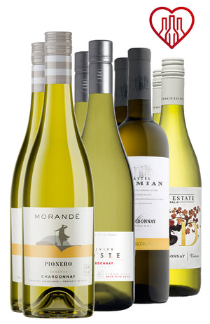 Chardonnay Eight Bottle Mix H4H