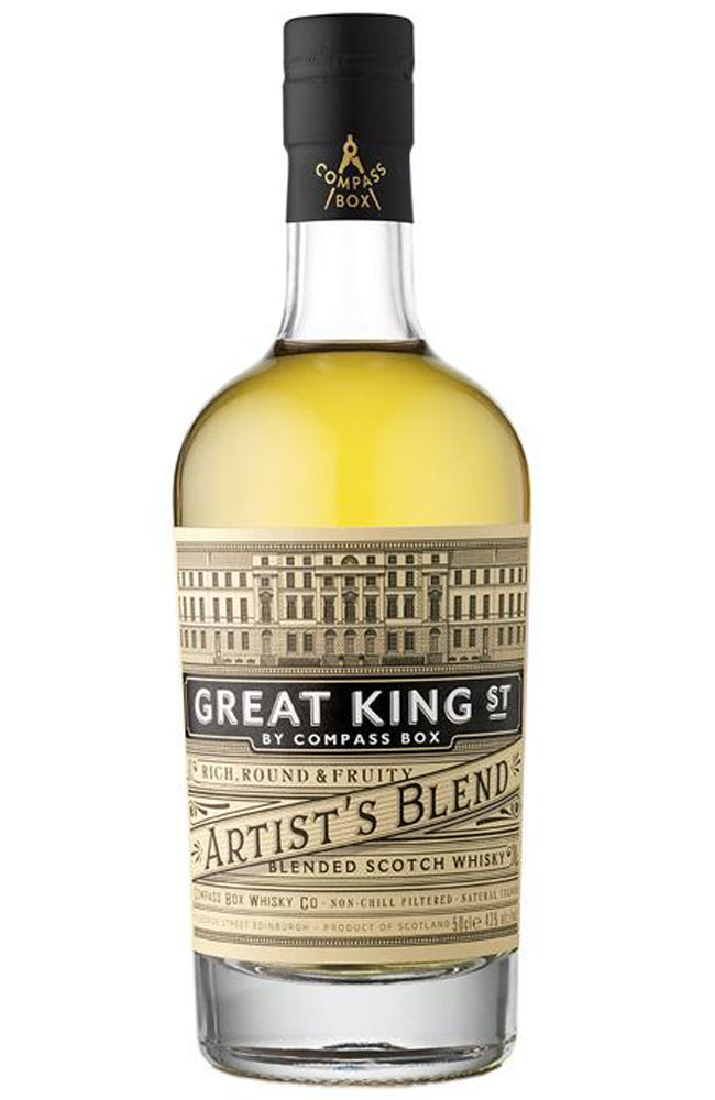 Compass Box Great King Street Artist's Blended Scotch Whisky