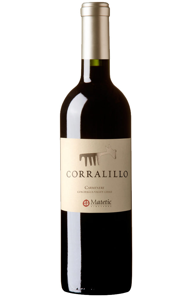 Matetic Corralillo Carmenere Chilean Red Wine