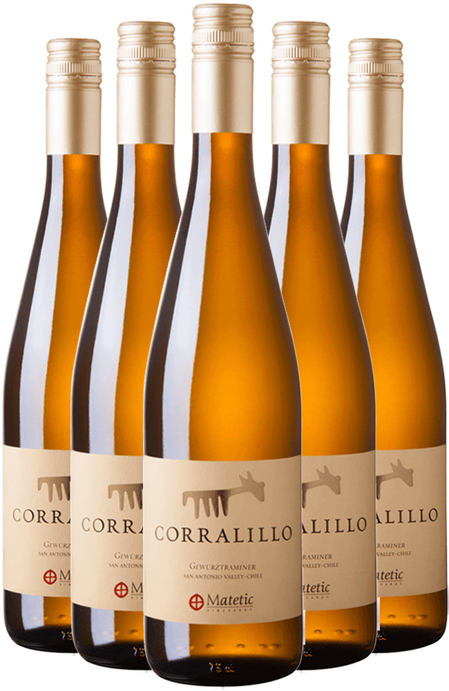 Matetic Corralillo Gewurztraminer 6 Bottle Case