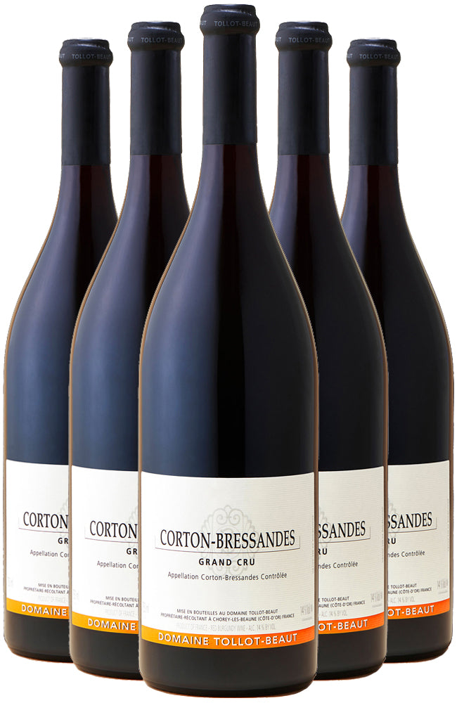 Domaine Tollot-Beaut Corton Bressandes Grand Cru 6 Bottle Case