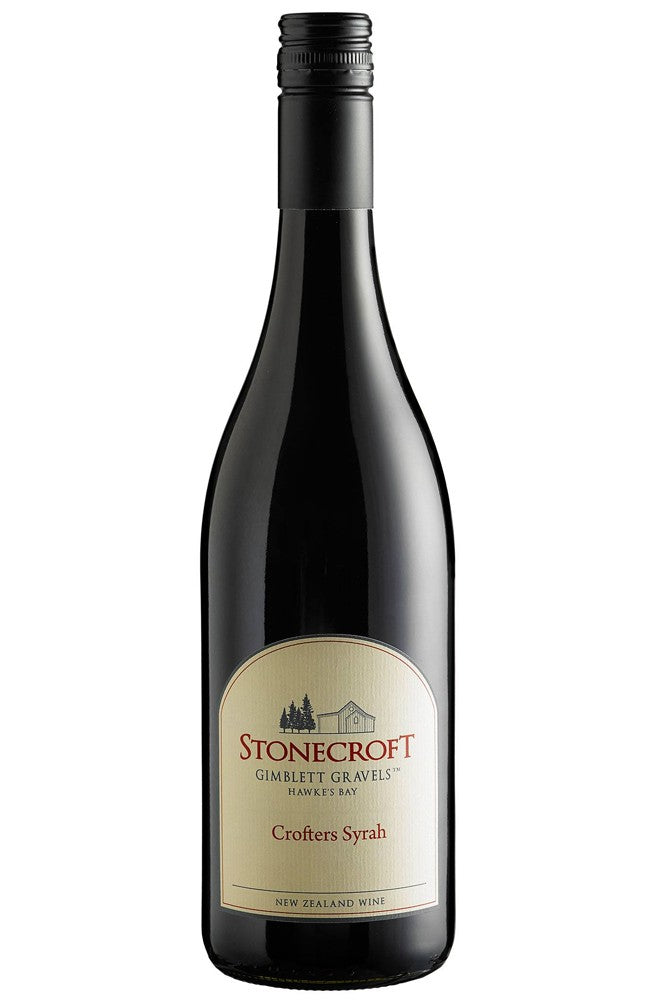 Stonecroft Crofters Syrah Hawkes Bay Red Wine