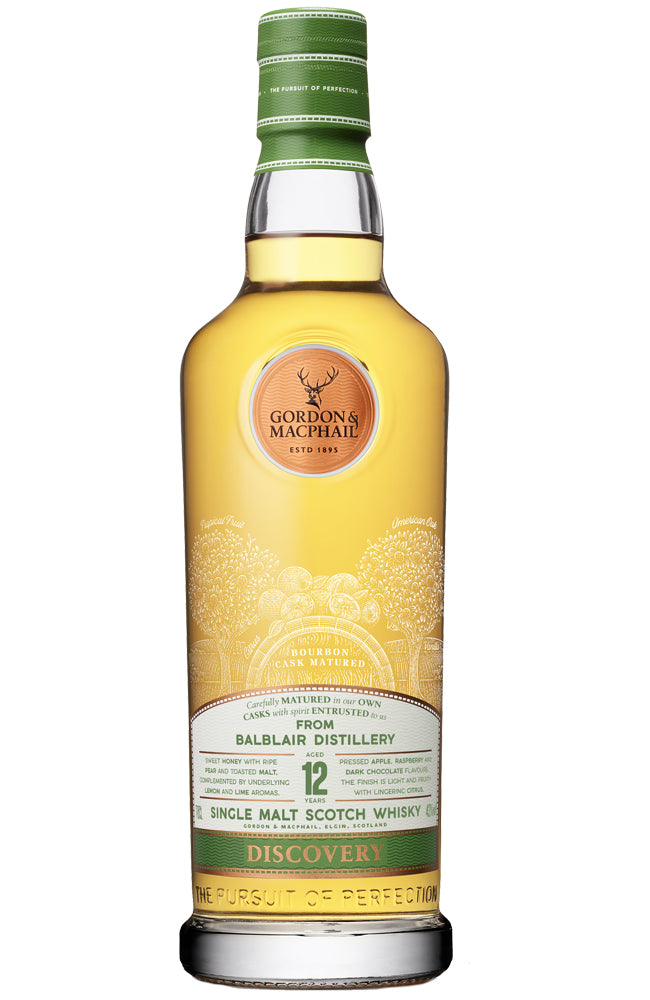 Gordon & MacPhail Discovery Balblair 12 Year Old Single Malt Scotch Whisky
