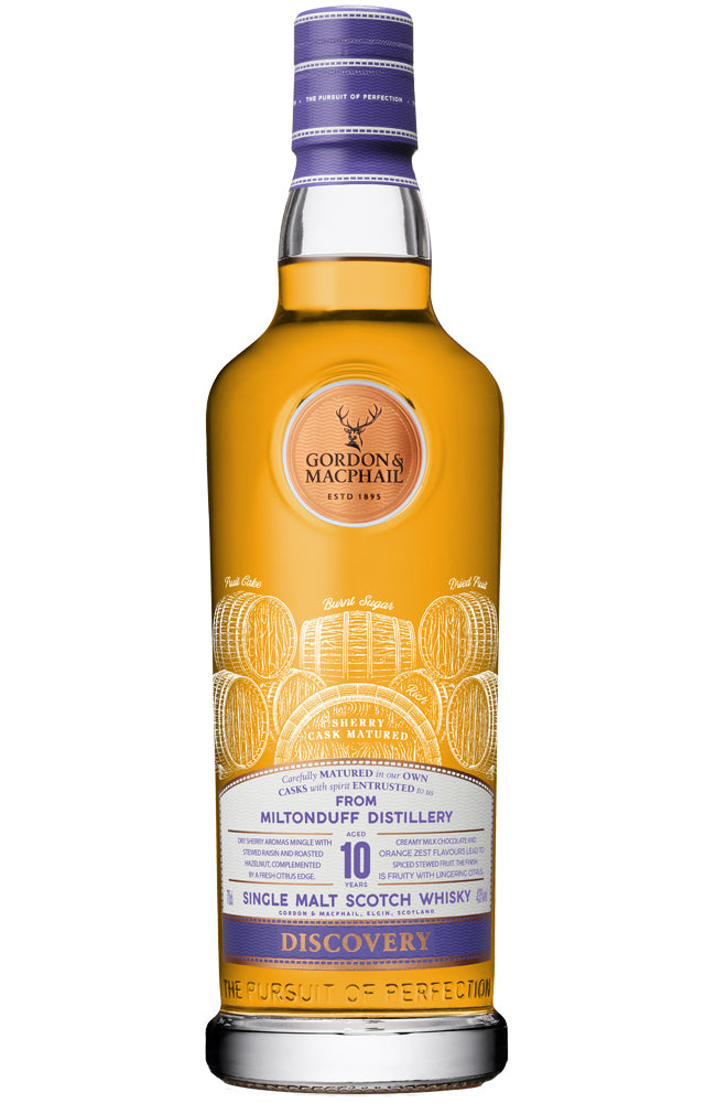 Gordon & MacPhail Discovery Miltonduff 10 Year Old Speyside Single Malt Scotch Whisky