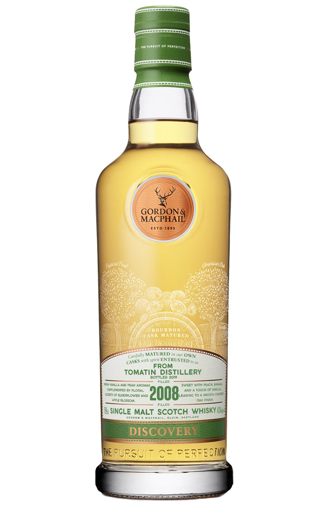 Gordon & MacPhail Tomatin 2008 Single Highland Malt Scotch Whisky
