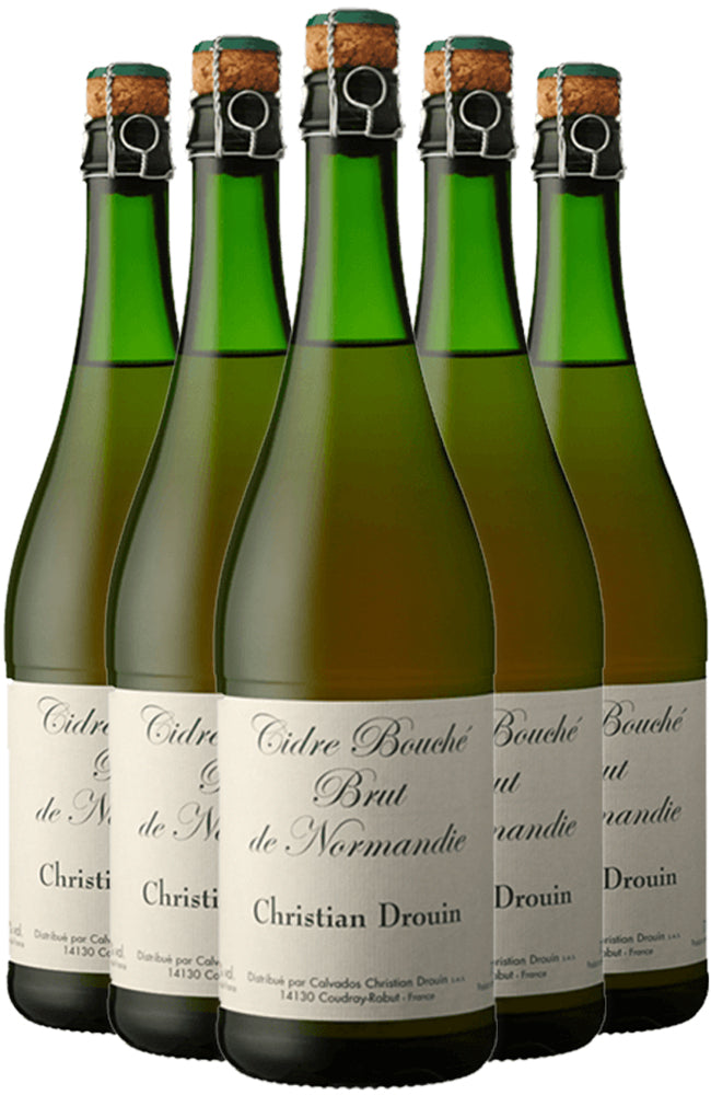 Christian Drouin Cidre Bouché Brut de Normandie 6 Bottle Case