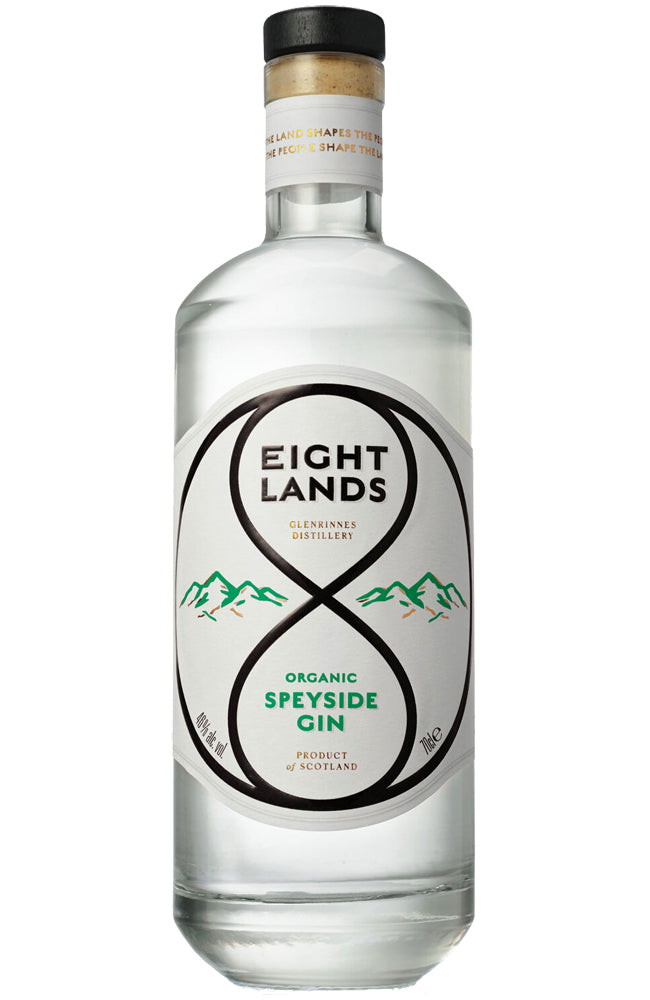 Eight Lands Organic Speyside Gin
